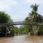 Per Affenbrücke lassen sich die vielen Wasseradern leichter überqueren