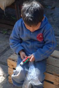Eher dürftig sind die Bildungsaussichten der Kinder in Chiapas