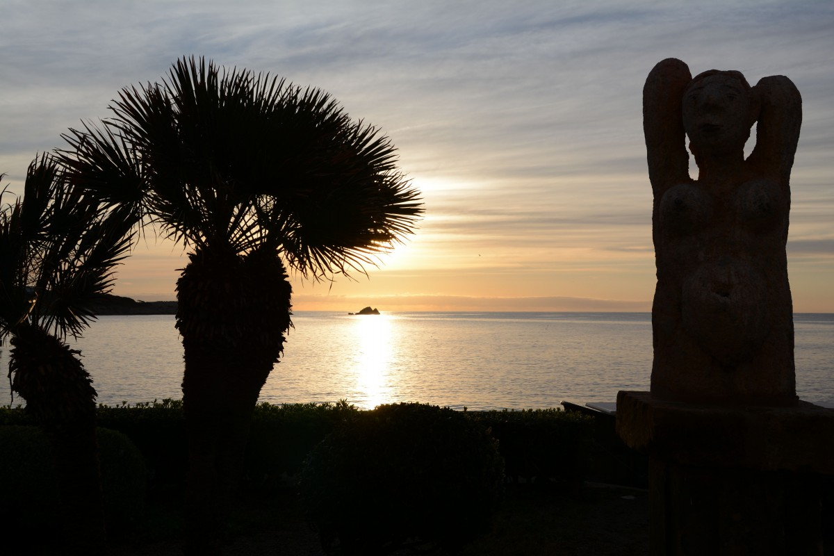 Morgenstimmung an der Promenade von Cala Ratjada