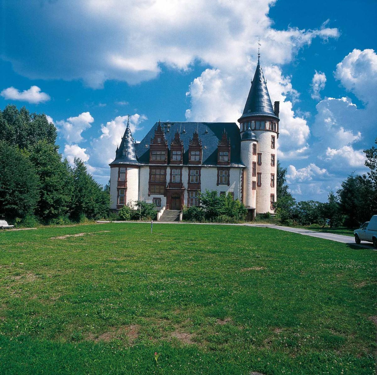 Schloss Klink an der Müritz, Mecklenburgische Seenplatte; Foto Dirk Topel